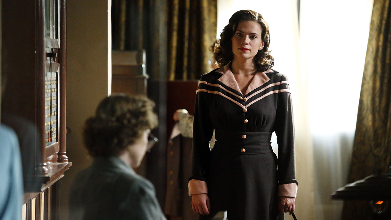 """MARVEL'S AGENT CARTER - """"Bridge and Tunnel"""" - Howard Stark's deadliest weapon has fallen into enemy hands, and only Agent Carter can recover it. But can she do so before her undercover mission is discovered by SSR Chief Dooley and Agent Thompson? """"Marvel's Agent Carter"""" airs TUESDAY, JANUARY 6 (9:00-10:00 p.m., ET), on ABC. (ABC/Kelsey McNeal) HAYLEY ATWELL"""