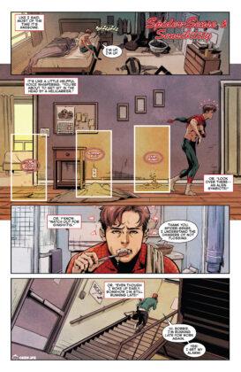 Peter Spider-Sense