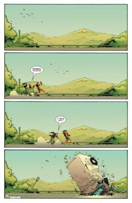 Logan i Wade uciekają