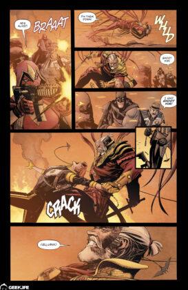 Batman vs Azrael