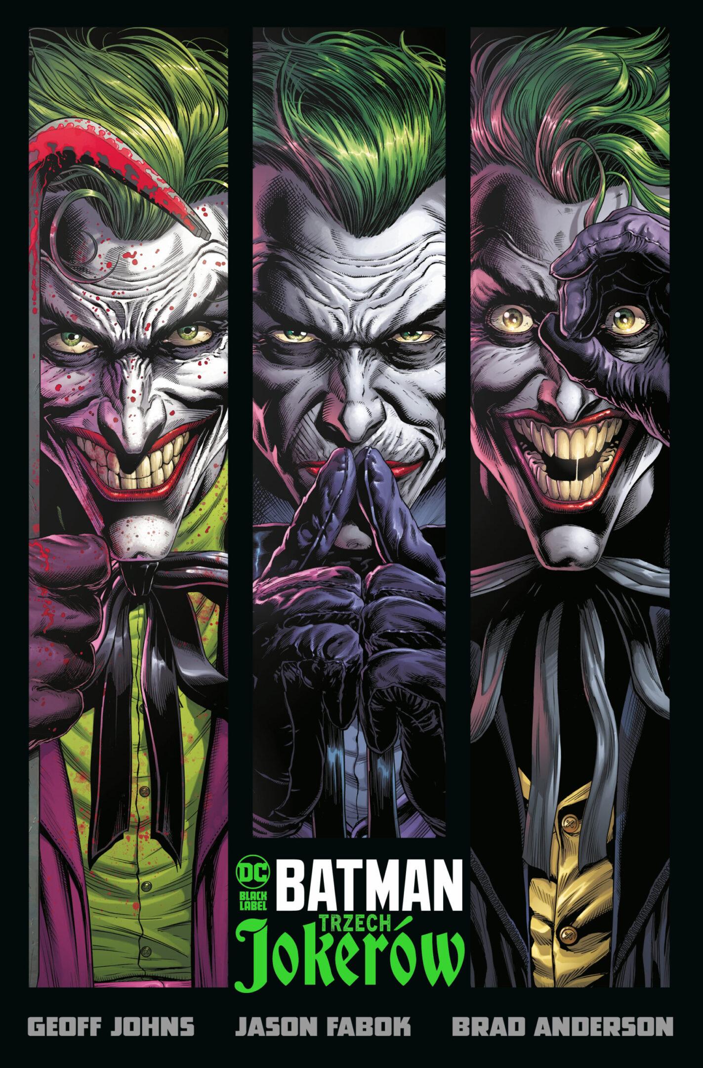Batman. Trzech Jokerów