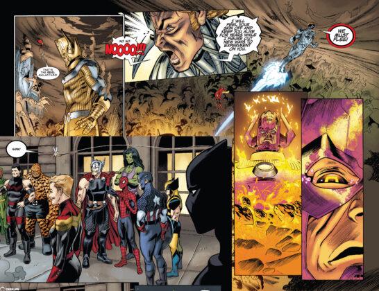 Galactus i Hank Pym