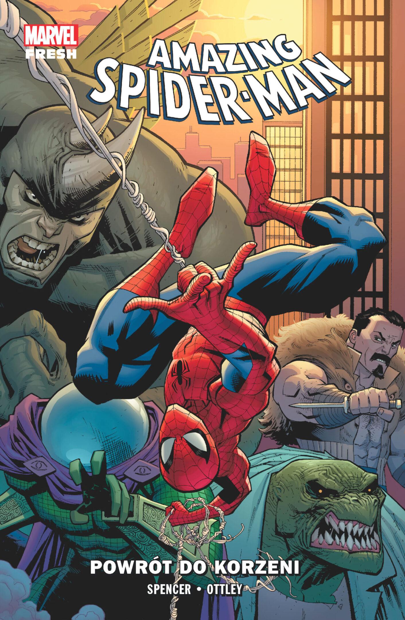 Amazing Spider-Man Tom 1: Powrót do korzeni