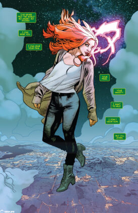Jean Grey Red